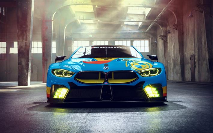 Fondos De Pantalla De Autos Deportivos Para Celular Fondos: Descargar Fondos De Pantalla BMW M8 GTE, Supercars, 2018