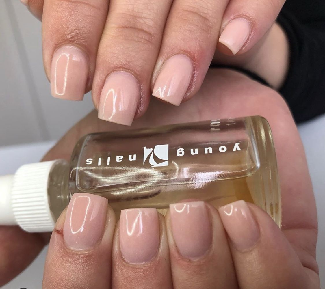 There Is Beauty In Simplicity In 2020 Natural Looking Nails Natural Nails Nails