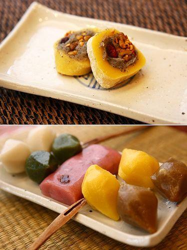 KOREA_Unique dessert cafes_Tteok Cafe (명동 떡 카페) | Korean ...