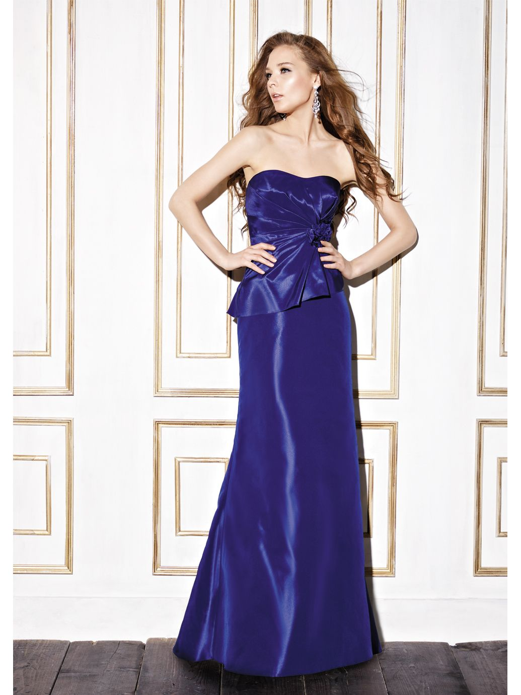 So elegant and classy! Also hides tummy! | Bridesmaid Dresses ...