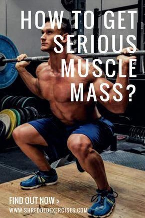 If you want to get more muscle, then you better get ready to do some hard work and prepare for slow...