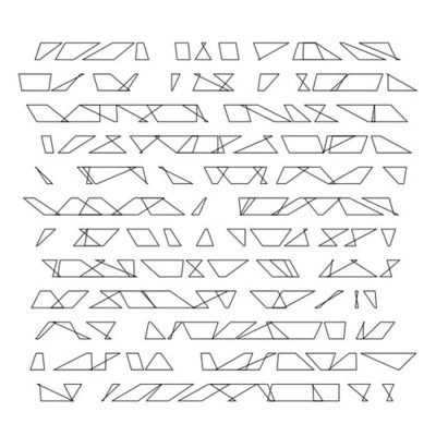 Code:http://www.openprocessing.org/sketch/103125 Another recoded work of Vera Molnar.http://www.dam.org/artists/phase-one/vera-molnar/artwor...