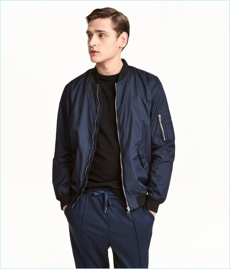 H&M Men's Bomber Jacket