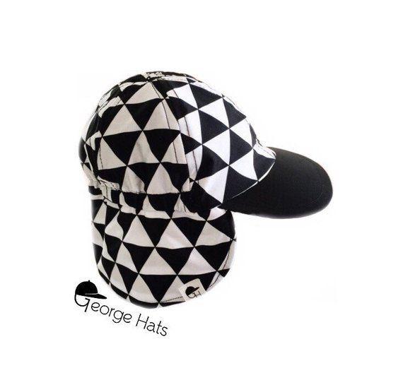 Sun   Swim Hat TRIANGLES REMIX   Baby Sun Hat   Toddler Sun Hat   Kids Swim  Hat 9ee446031ab