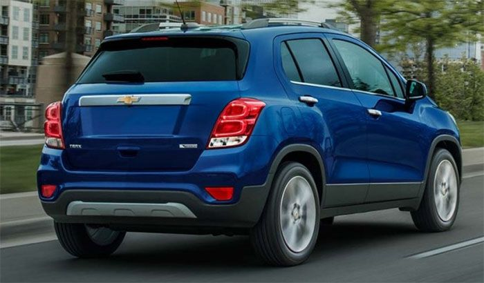 2018 Chevrolet Trax Changes Release Date Chevrolet Trax