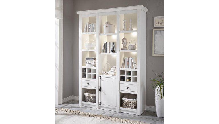 HOME AFFAIRE vitrinekast, »California« hoogte 207 cm online shoppen | OTTO