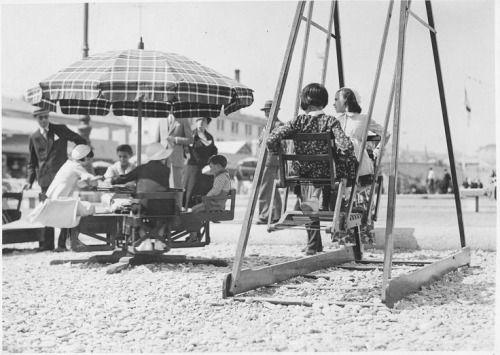 1933/34 Giochi di bambini al Villaggio Balneare di Genova  #TuscanyAgriturismoGiratola