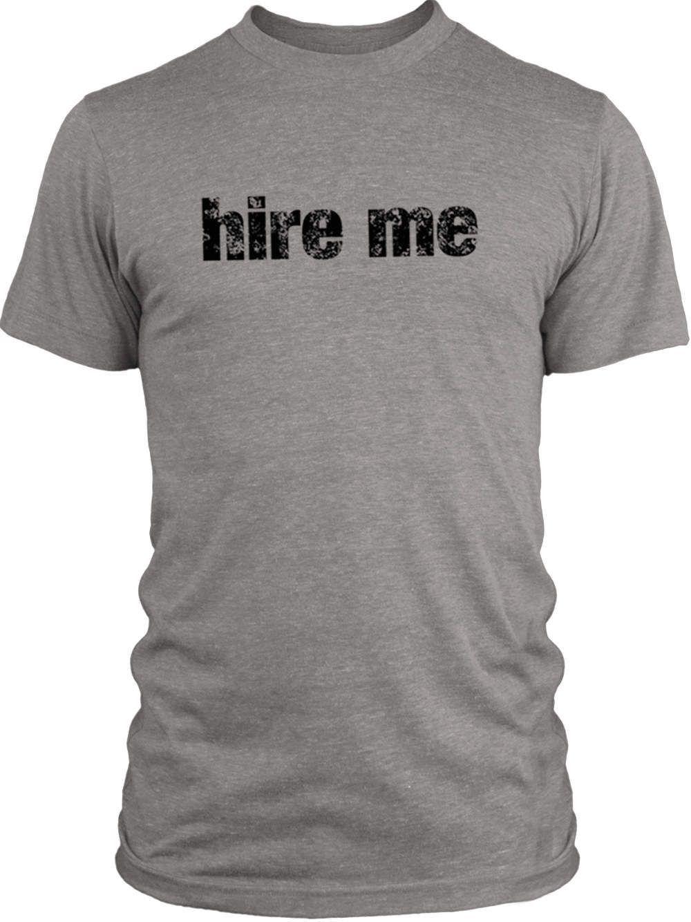 Big Texas Hire Me (Black) Vintage Tri-Blend T-Shirt