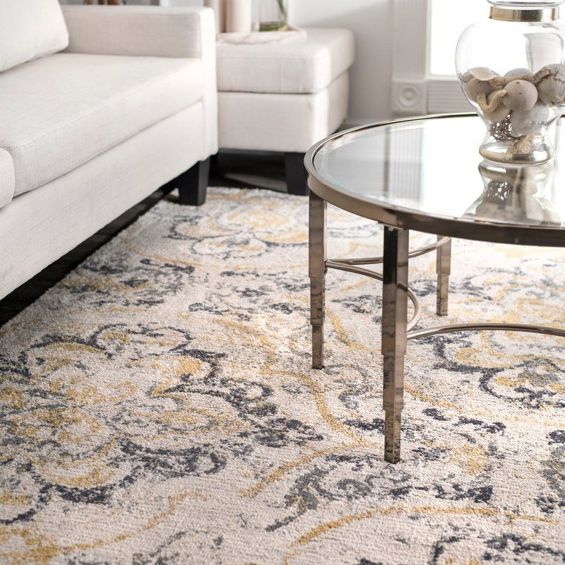 Zanesville Off White Area Rug Rugs Area Rugs Yellow