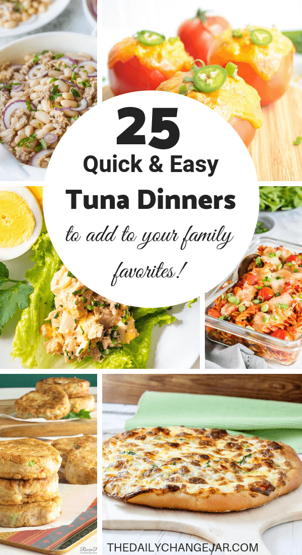 25 Cheap And Easy Recipes Using Canned Tuna The Daily Change Jar Recipe Using Canned Tuna Cheap Easy Meals Canned Tuna Recipes