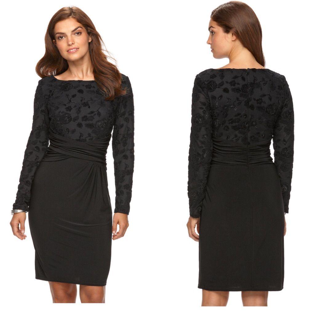 Black velvet sheath evening dress black velvet and products