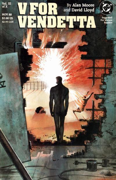 Gcd Cover V For Vendetta 3 V For Vendetta V For Vendetta Comic Vendetta