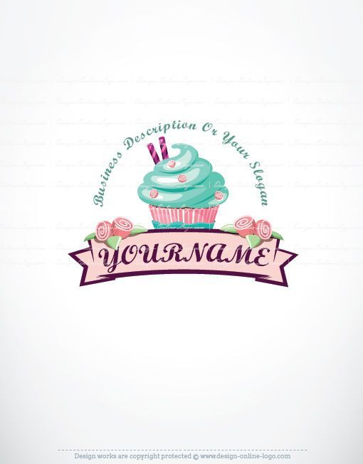 Cake logo design free pesquisa google design pinterest cake buy logo online get free business card design reheart Image collections