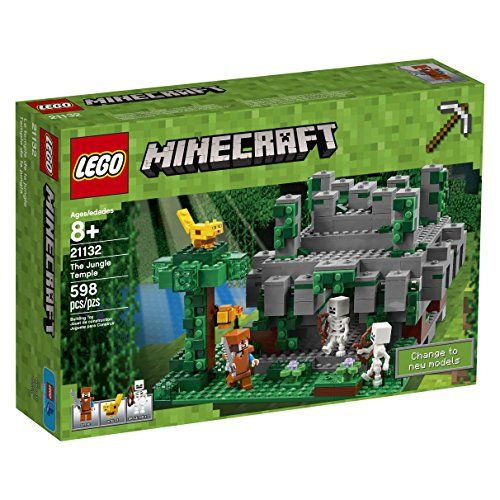 LEGO Minecraft The Jungle Temple 21132 Building Kit (598 ... https ...