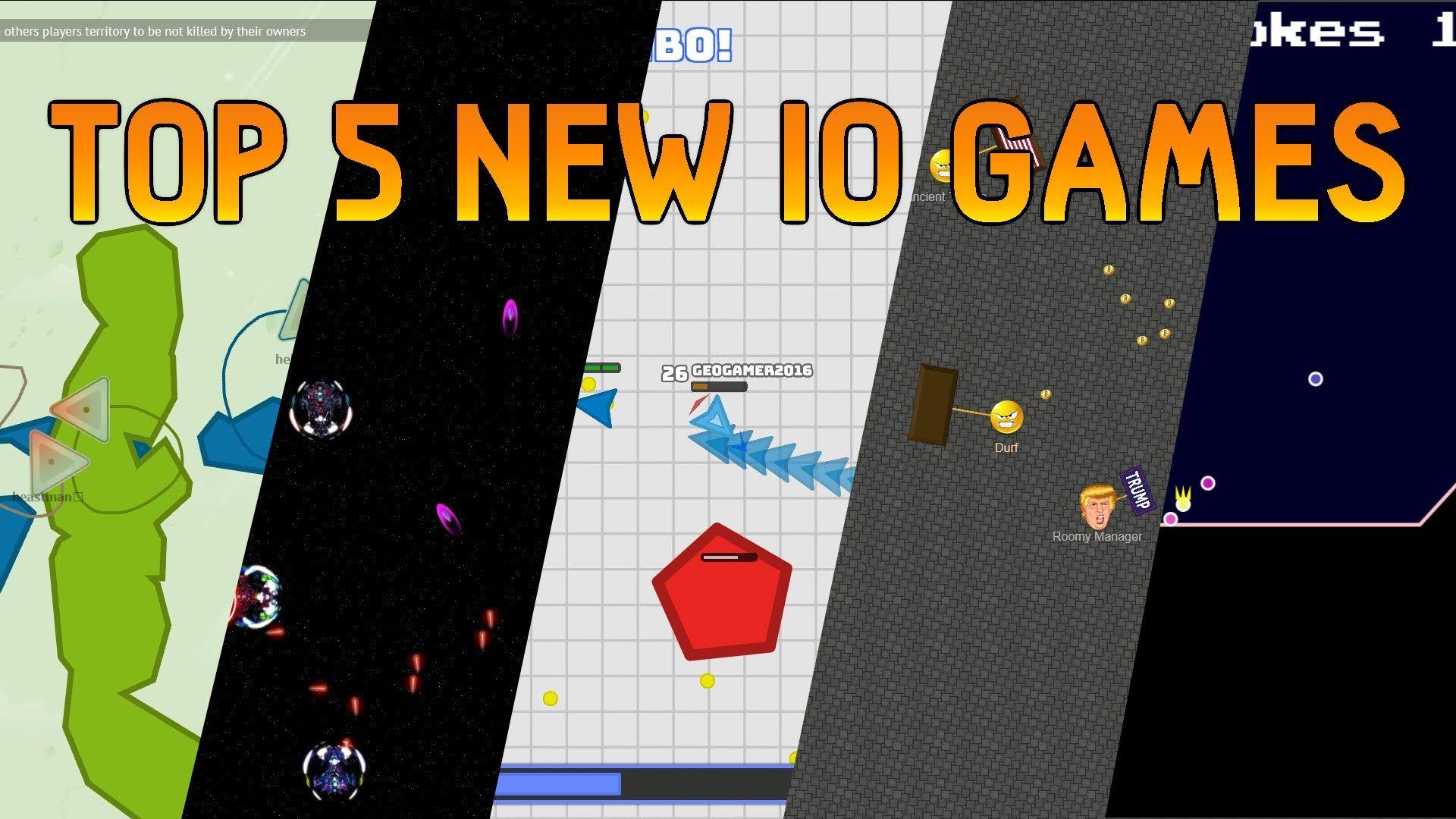 Top 5 NEW IO Games of September 2016 terr.io voidark.io