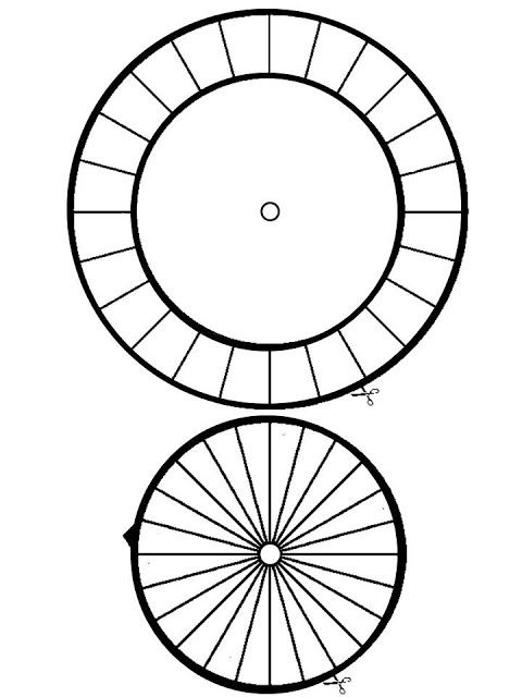 Cipher Wheel Template