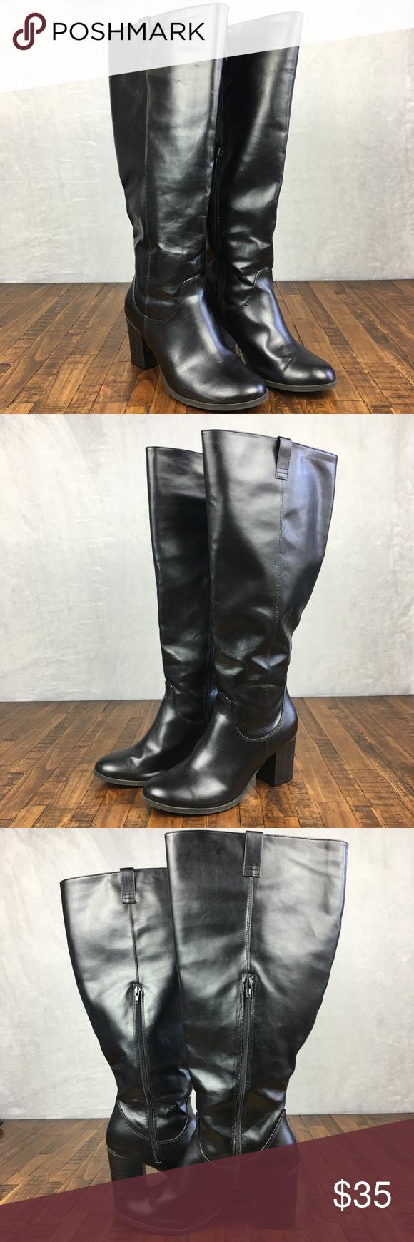 DexFlex Wide Calf Boots Tall Comfort