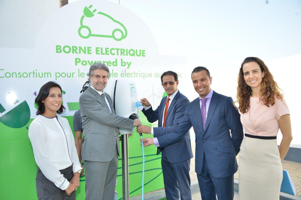 EVBox & Vivo Energy Launch Morocco's 1st Public EV