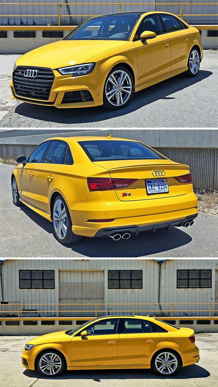 The 2017 Audi S3 Arrives With Mostly Minor But Welcome Updates The New Face Is More Angular And Aggressive With Led Hea Audi Cars Audi A3 Sedan Audi S3 Sedan