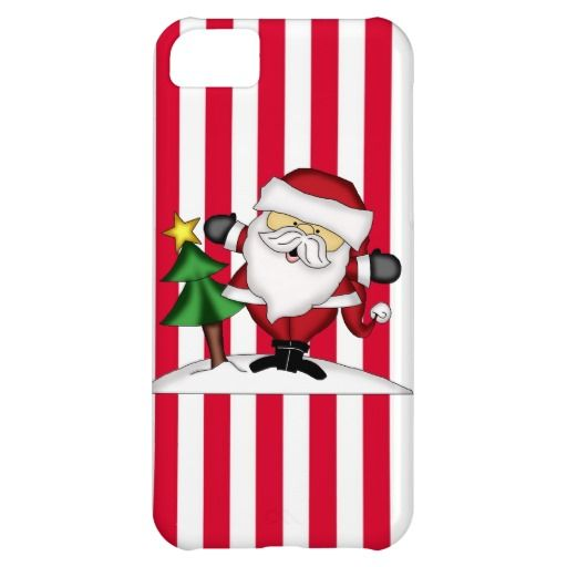 Christmas Santa iPhone5C barely there case iPhone 5C Cases