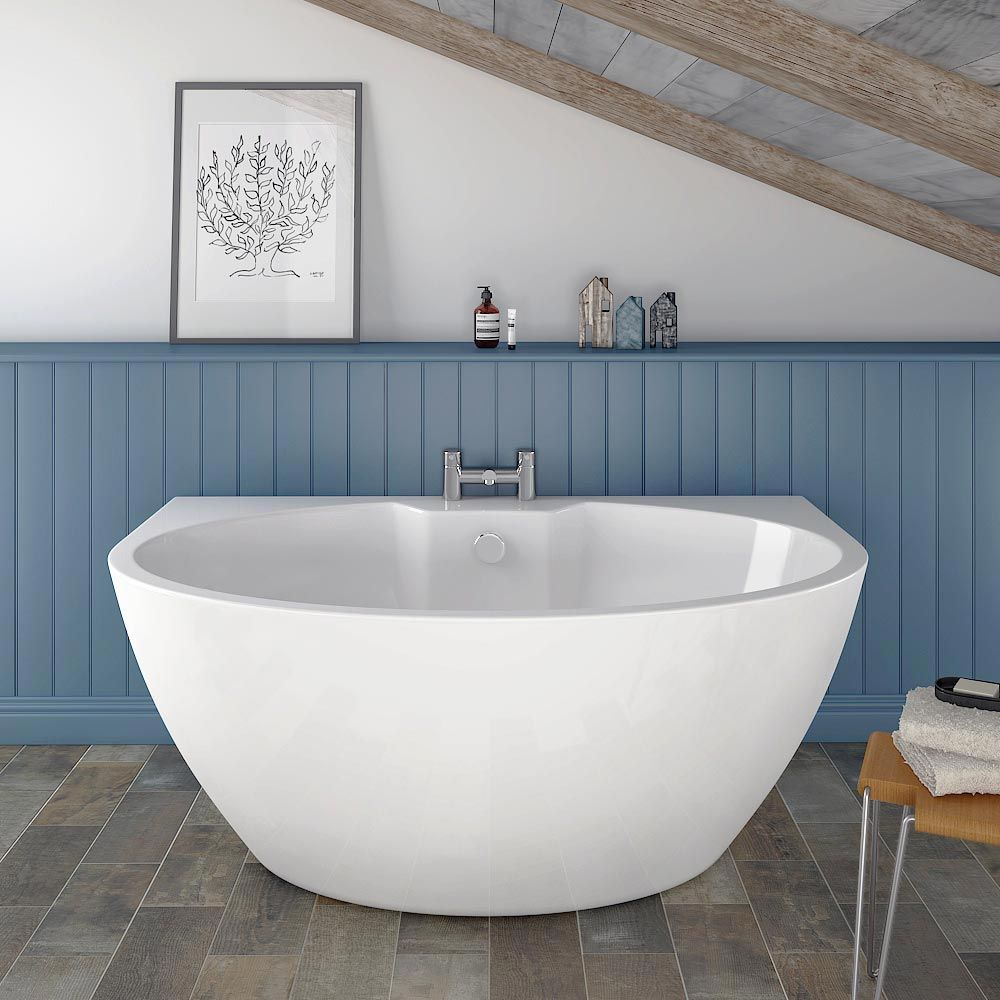 Orbit BTW Modern Free Standing Bath (1515 x 940mm) | Freestanding ...