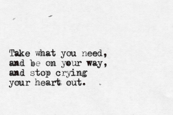 Stop Crying Your Heart Out By Oasis Oasis Lyrics Quotes To Live By Take What You Need