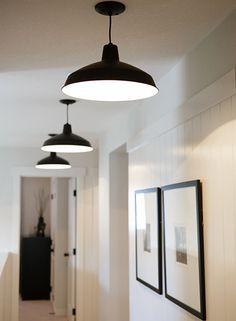 Hallway Pendant Light Height Google Search Interior Light Fixtures Hallway Lighting Black Ceiling Lighting