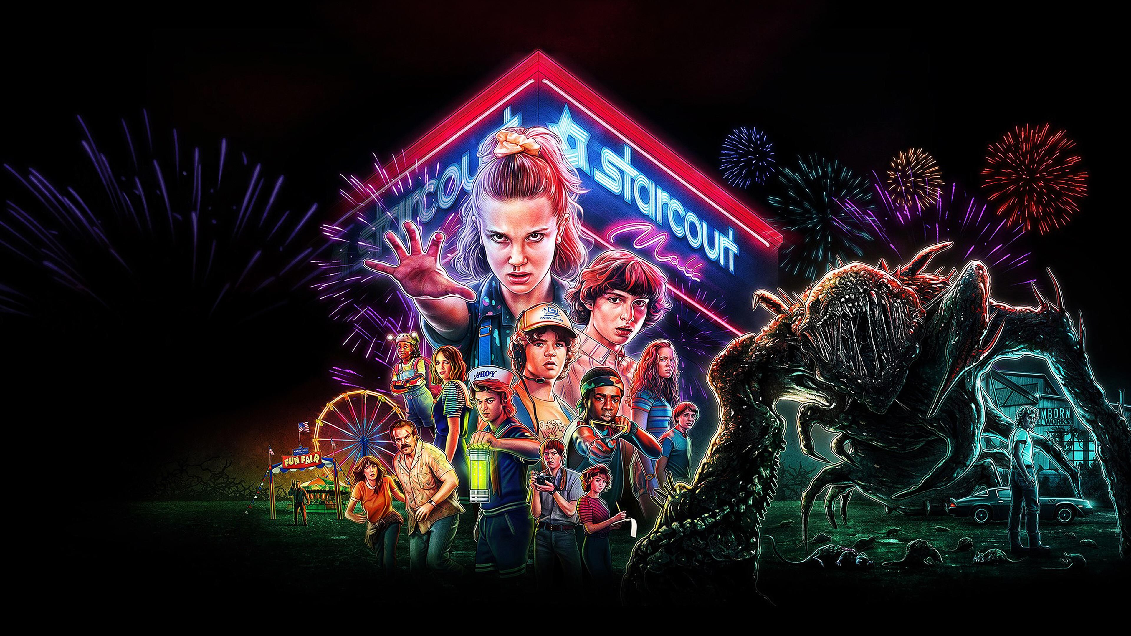 80 Ps4 Background Wallpapers Stranger Things Poster Stranger Things Season Stranger Things Wallpaper