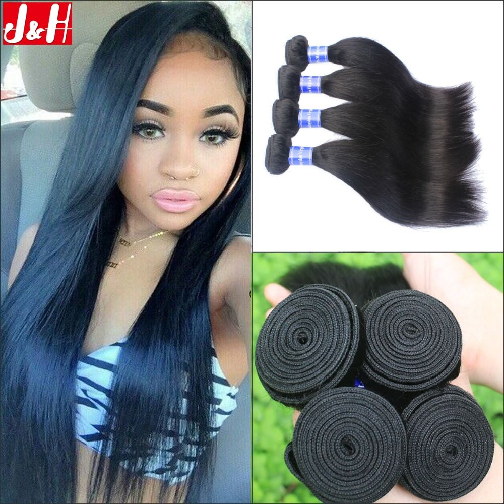 4pcslot peruvian straight virgin hair weaves 7a good quality 4pcslot peruvian straight virgin hair weaves 7a good quality unprocessed natural human hair extensions pmusecretfo Images