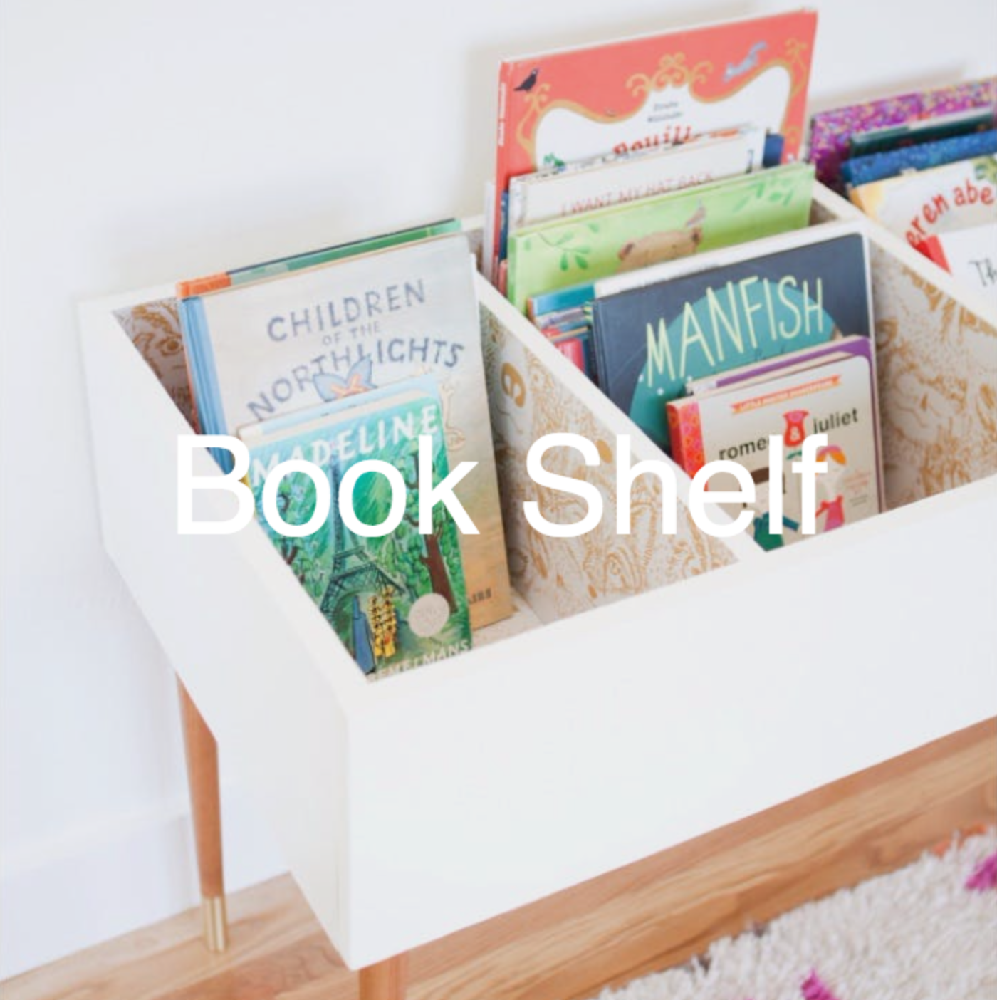 An Easy Tutorial For A Diy Kids Book Bin That