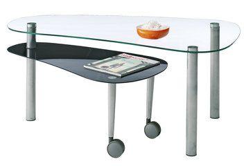 Sohvapöytä HARPELUNDE metalli lasi | JYSK