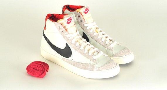 boutique en ligne sneakernews de sortie Nike Blazer Mid 77 Papier Peint Camo Rouge X1Cw1if