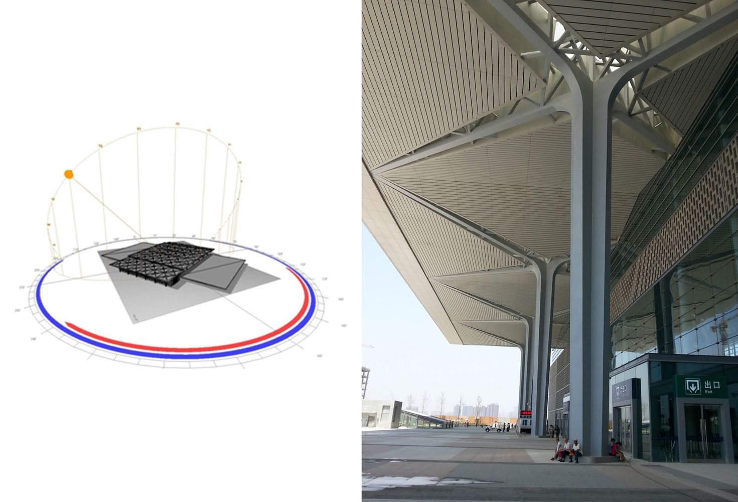 Gallery Of Taiyuan South Railway Station Csadi 22 Modern Roofing Green Roof System Roof Design