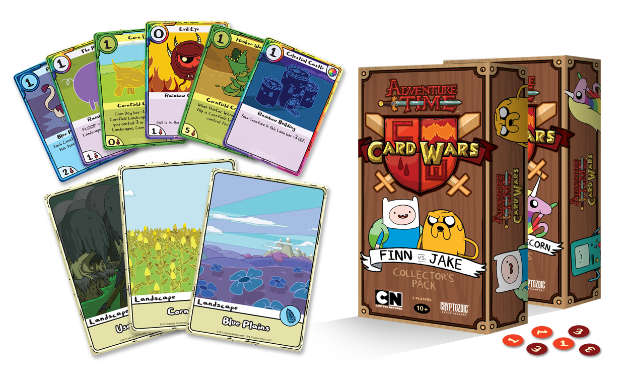 Adventure Time Card Wars Collector S Pack Adventure Time Card Game Cards Card Games