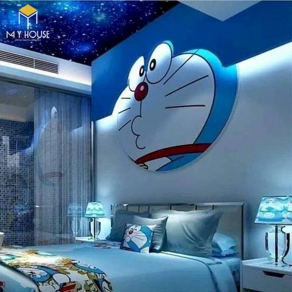 Phòng ngủ Doremon đẹp +35 Mẫu thiết kế độc đáo hiện đại 2021