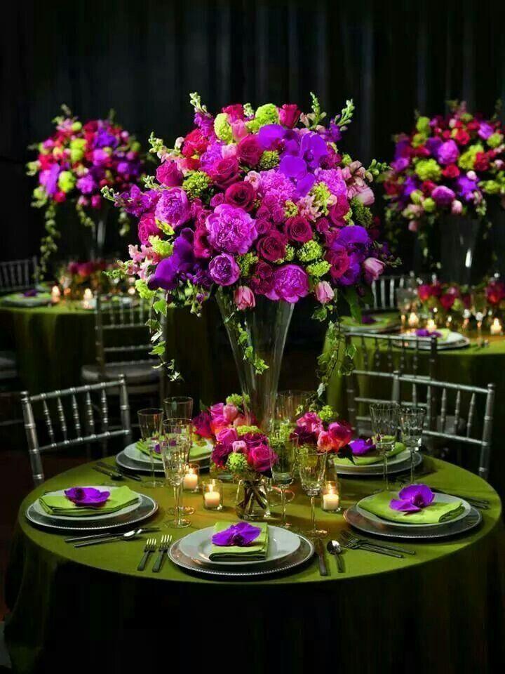 Beautiful table decor konfi Tischdekoration hochzeit