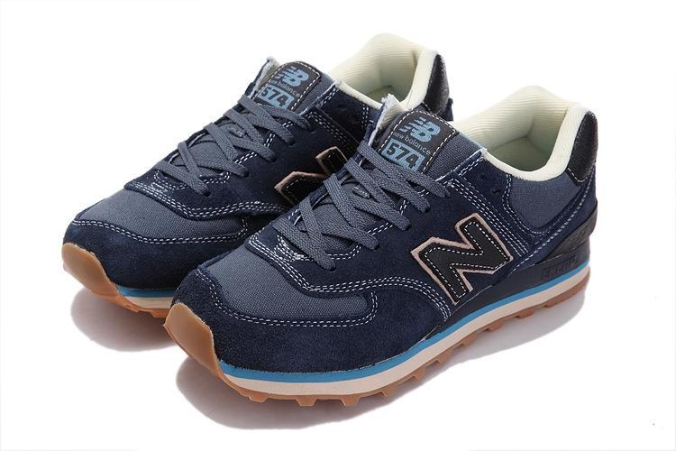 New Balance NB ML574USN iron Blue Brown For Men shoes