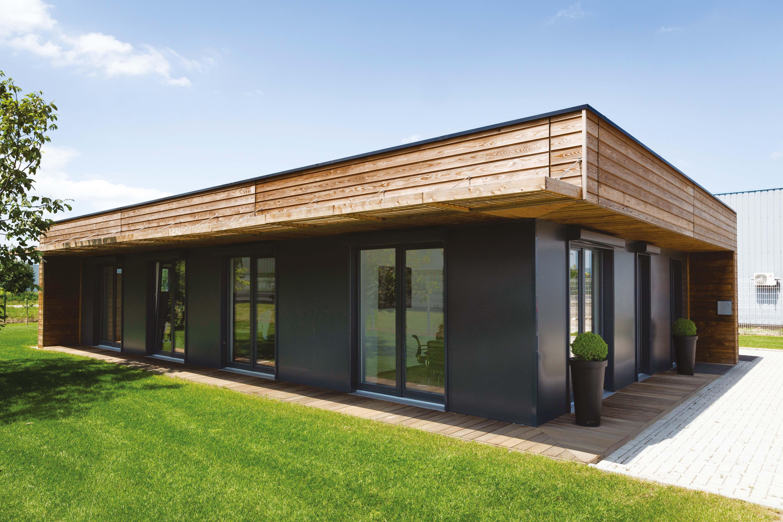 constructeur archi design maisons ossature bois 100