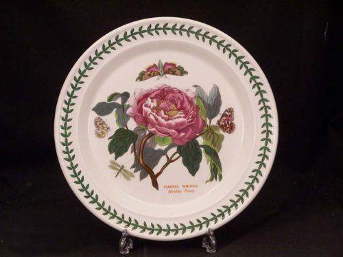 Portmeirion Botanic Garden Dinner Plate S Shrubby Peony By