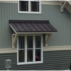 Sheet Metal Window Awning Google Search Exterior Show Off Windo