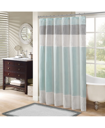 Madison Park Amherst 72 X 72 Shower Curtain Reviews Shower Curtains Bed Bath Macy S In 2020 Striped Shower Curtains Shower Curtains Walmart Curtains