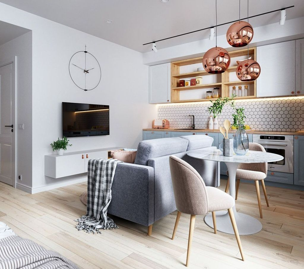 Beautiful Small Living Rooms: 34 Beautiful Small Apartment Decoration Ideas To Try Right