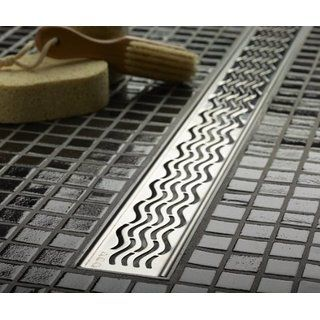 ACO 37241 Quartz Plus 3-Feet Wavy Grate Design