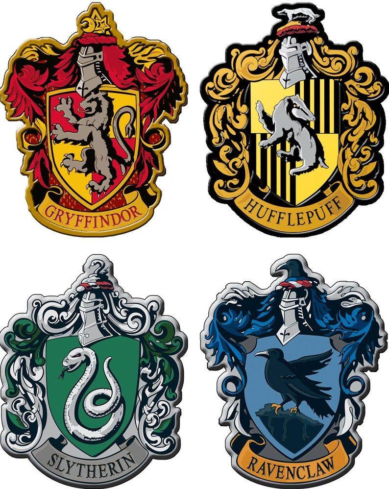 Hogwarts House, Sticker, Stickers, Hogwarts, Potter