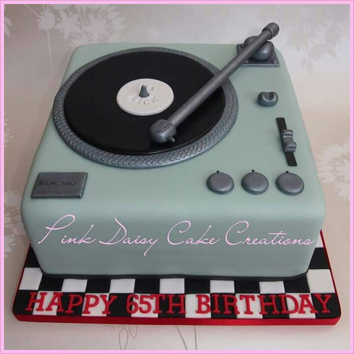 Phenomenal Record Player Cake With Images Music Cakes Dj Cake Record Cake Birthday Cards Printable Benkemecafe Filternl