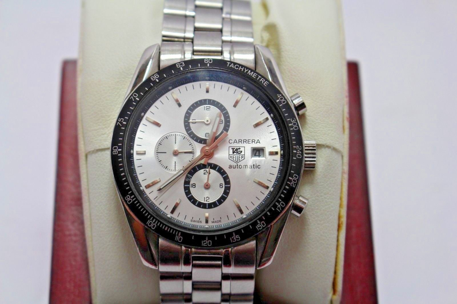 tag heuer carrera automatic wj1110 0 sq4820 in 2018 men luxury rh pinterest com au Omega Watches Baume Mercier