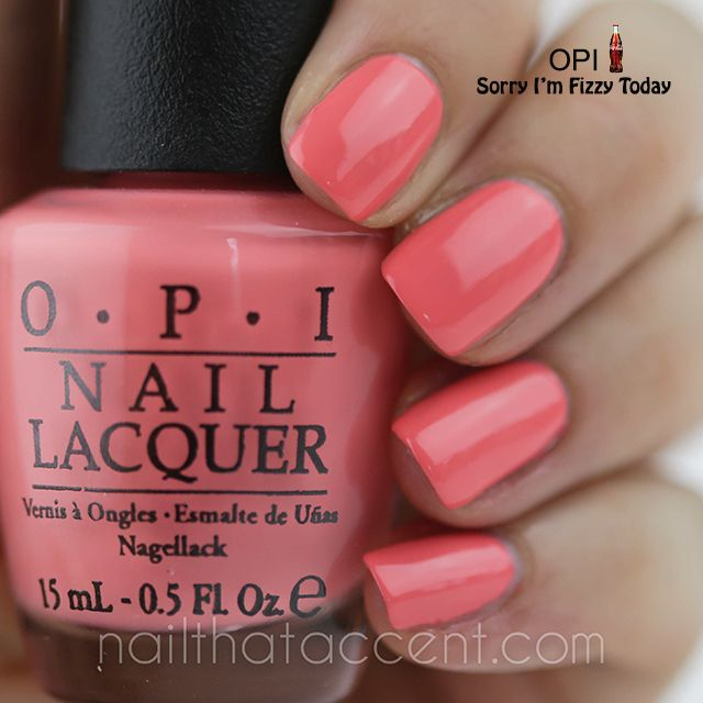 OPI Nail Polish Color: Sorry I\'m Fizzy Today (no-chip option ...