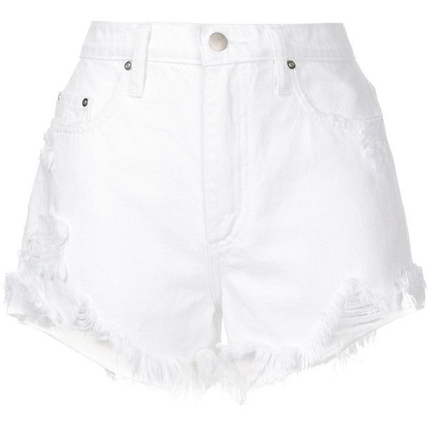 6c237a66ad0 Nobody Denim Skyline Short Fray Beyond ($149) ❤ liked on Polyvore featuring  shorts,