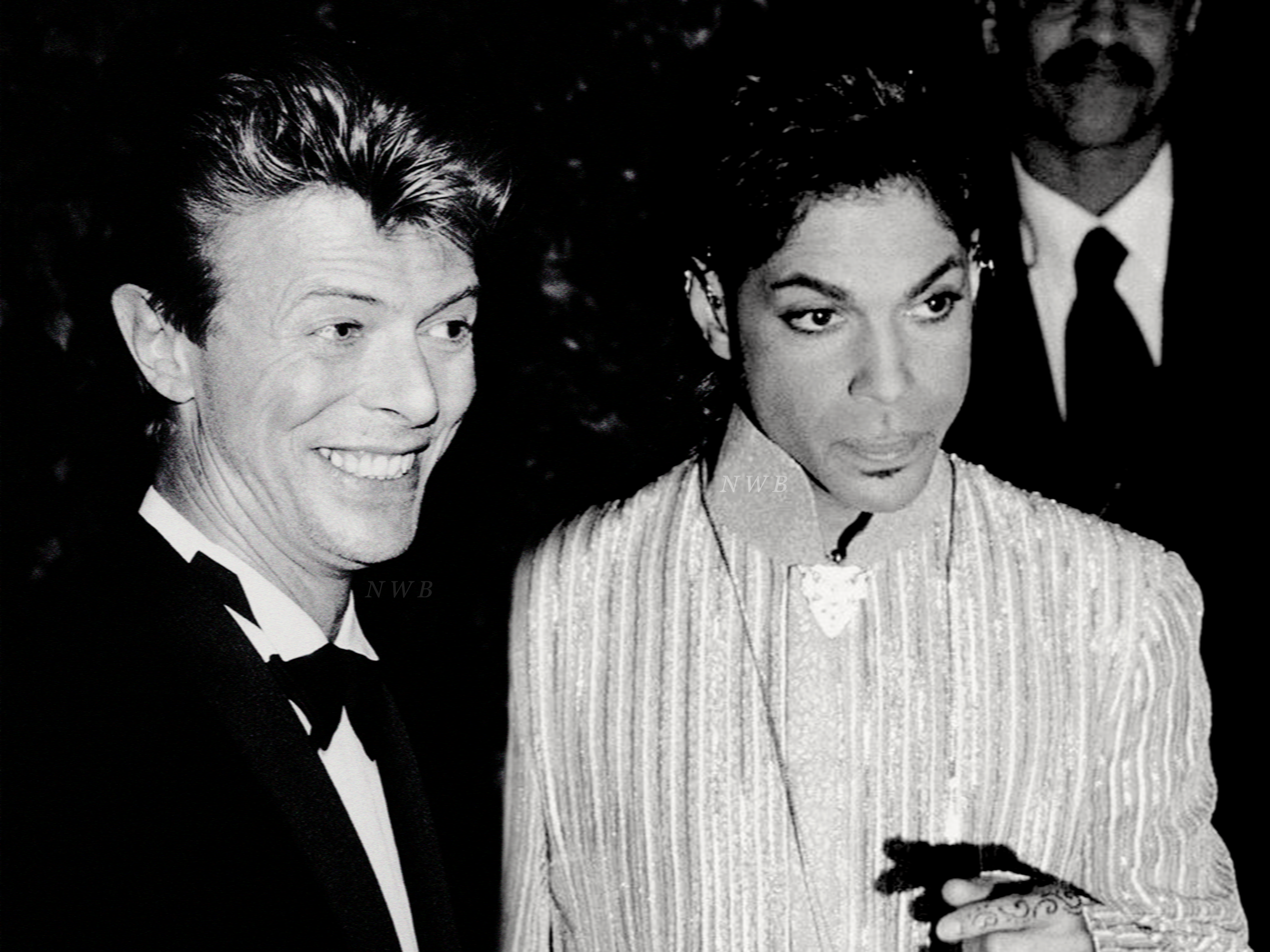 Image result for david bowie and prince
