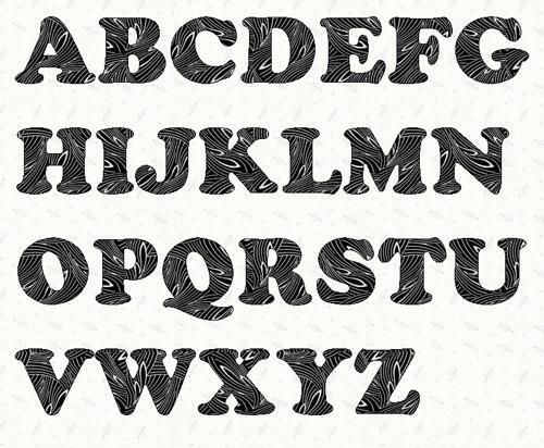Alphabet cooper black 3 inch template scroll saw pinterest pattern for alphabet letters sewing alphabet cooper black 3 inch template spiritdancerdesigns Image collections